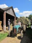 by the hay barn.JPG